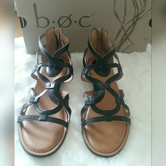 a2576cafeb29 b.o.c. Shoes - B.O.C PAWEL WEDGE GLADIATOR SANDAL size 9M